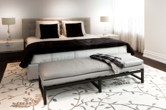 contemporary bedroom by Croma Design Inc
