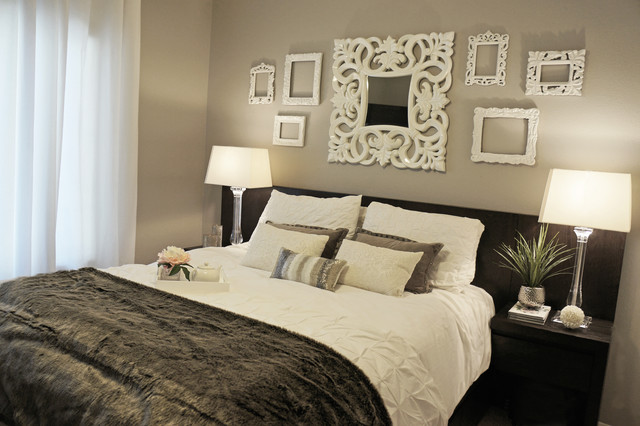 Boutique hotel inspired guest bedroom contemporary for Boutique hotel bedroom designs