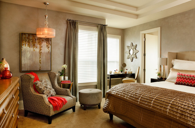 Twilight Terrace contemporary bedroom