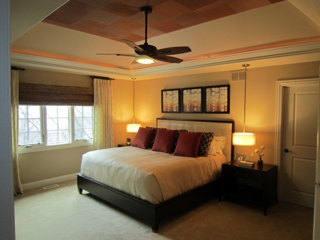 Contemporary bedroom hanging pendants contemporary for Bedroom hanging lights