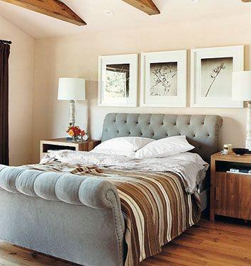 Eco Chic Bedroom Contemporary Bedroom Los Angeles