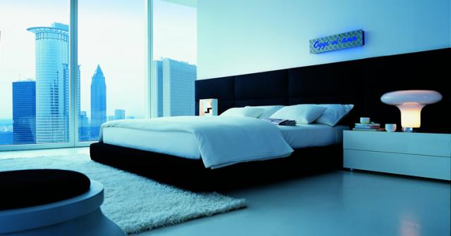 Poliform contemporary bedroom