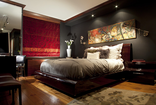 Upper east side condo contemporary bedroom new york for Bedroom designs new york