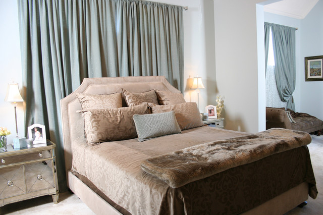 contemporary bedroom by Karen Davis Design