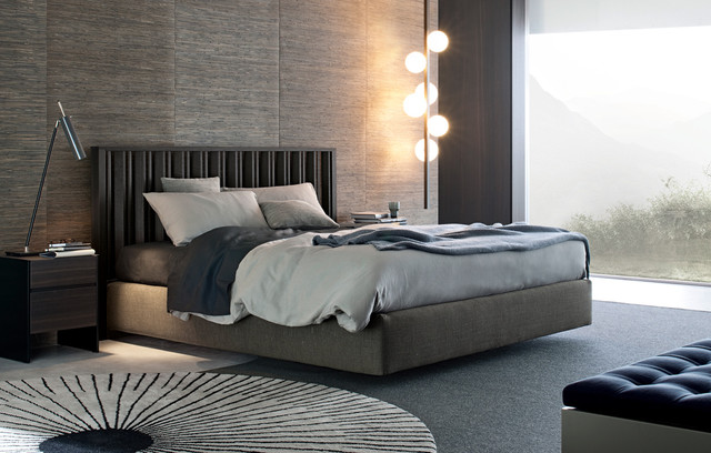 arca bed contemporary bedroom by poliform usa