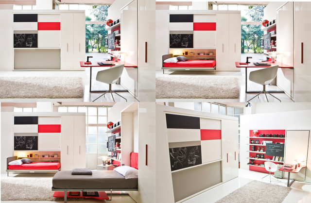 Telemaco Work Poppi Contemporary Bedroom New York By