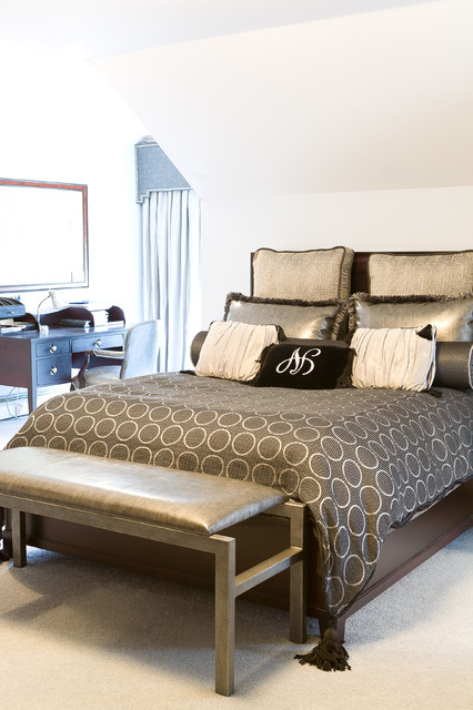 Contemporary Bedroom Contemporary Bedroom Philadelphia By Sheffield Furniture Interiors