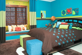 Kids co ed rooms for Coed bedroom ideas