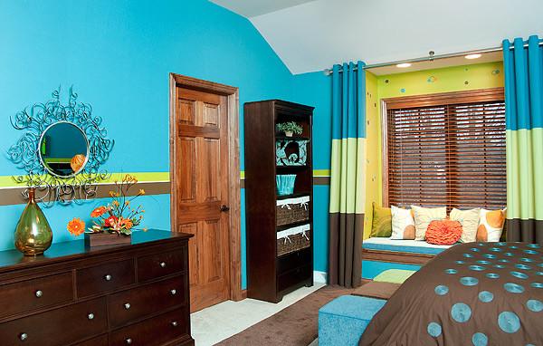 Teen Bedroom - Paint techniques - Contemporary - Bedroom ...