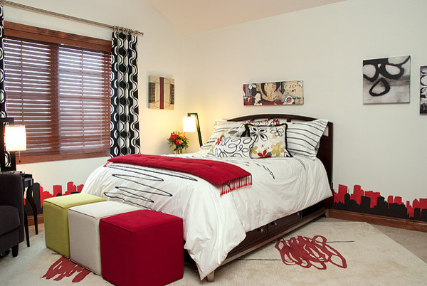 Teen Bedroom - contemporary - bedroom - milwaukee - by Suzan J ...