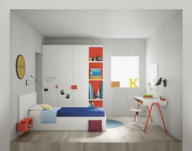 contemporary children s bedroom furniture from go modern 12551 | contemporary bedroom