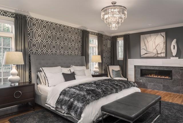 Contemporary Clayton Home fusion-bedroom