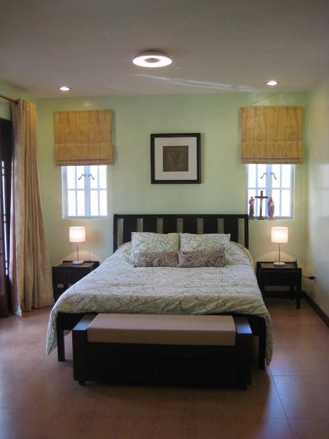 Contemporary Filipino House asian-bedroom