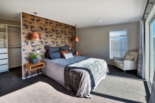Contemporary NZ Master Bedroom - Contemporary - Bedroom