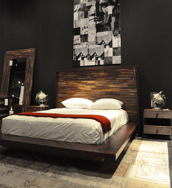 Contemporary Platform Beds  Eclectic  Bedroom  Boston  by Zin Home