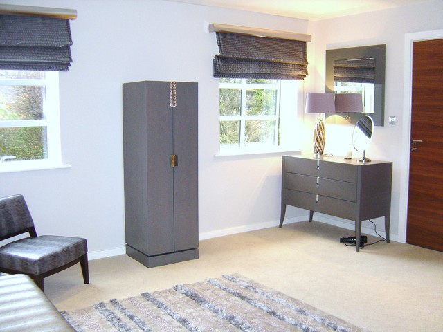 Contemporary property in Cheshire traditional-bedroom