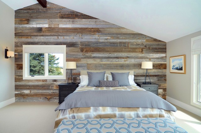 Contemporary Ranch Bedroom