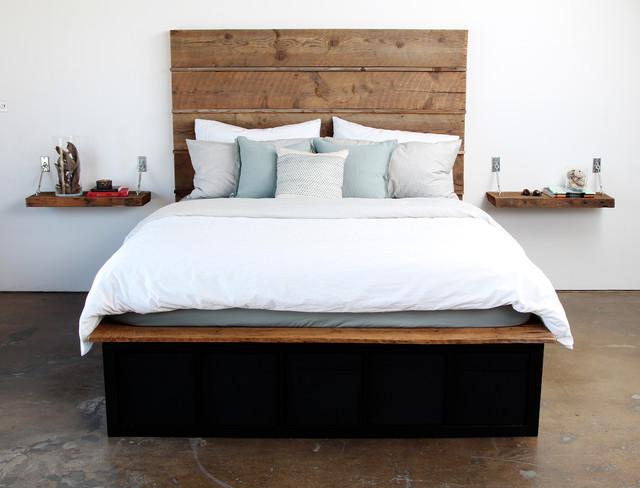 wooden storage beds 2