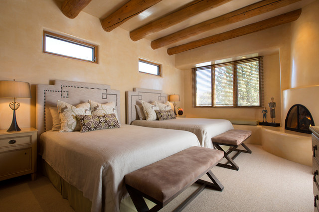 Contemporary Rustic Home In Santa Fe American Southwest