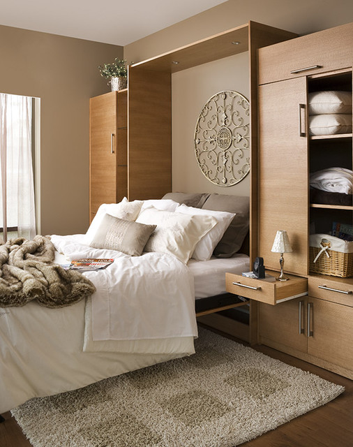 Contemporary space saver contemporary bedroom for Beds vancouver