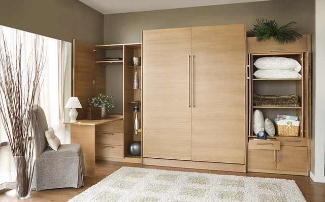 Contemporary Space Saver - Contemporary - Bedroom - vancouver - by Murphy Wall-Beds Hardware