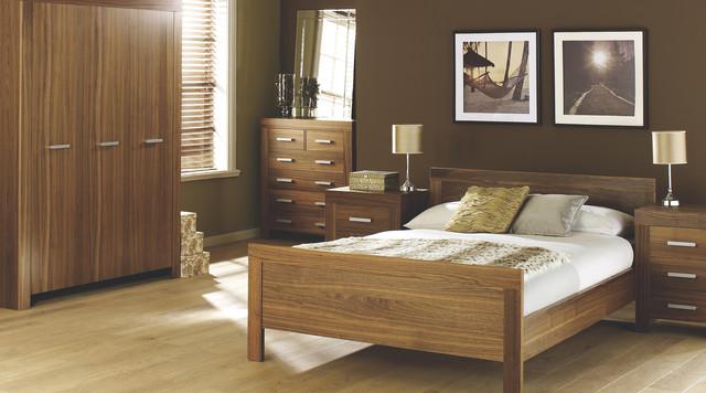 Contemporary Walnut Bedroom Furniture - Contemporary - Bedroom ...