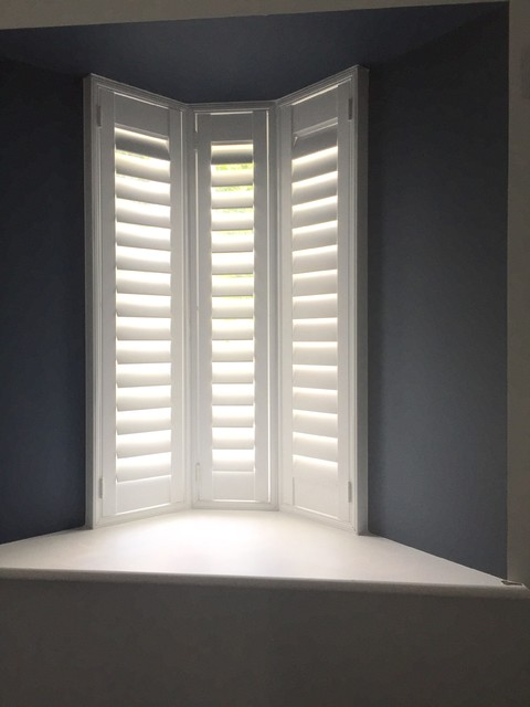 Contemporary Window Shutter Contemporary Bedroom London By London Int