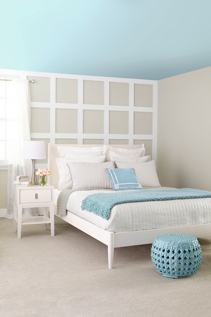 Cool Blues Transitional Bedroom By Lowe 39 S Home