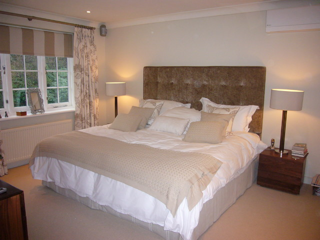 Coombe contemporary-bedroom