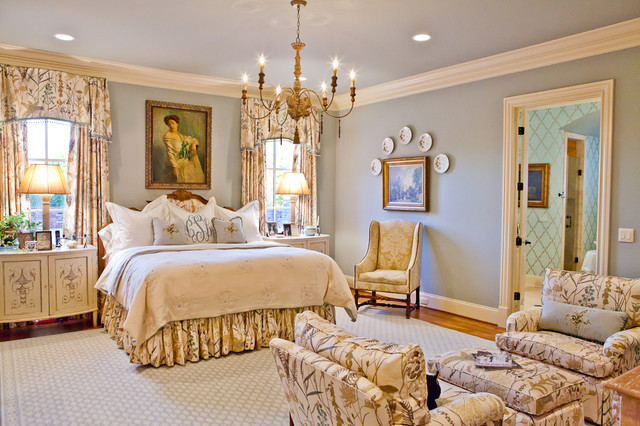 Cooper Creek Master Bedroom Traditional Bedroom Nashville By Eric Ross Interiors Llc