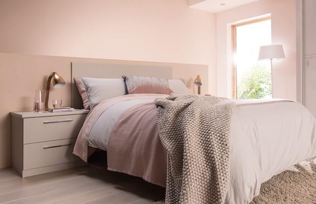Bon Copper U0026 Blush Bedrooms Contemporary Bedroom