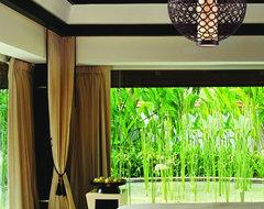 Corbett Lighting tropical-bedroom