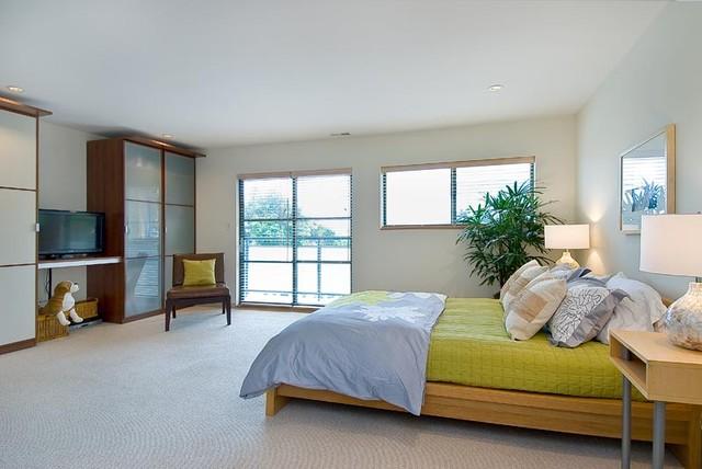 Corbett Street Condos modern-bedroom