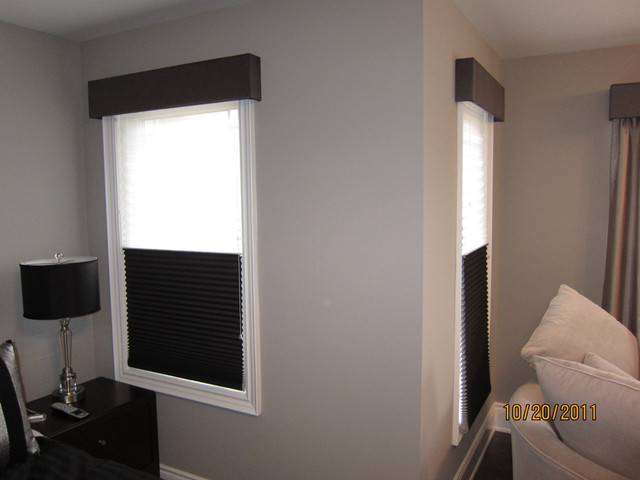 Cornice boxes contemporary bedroom toronto by for Bedroom cornice design