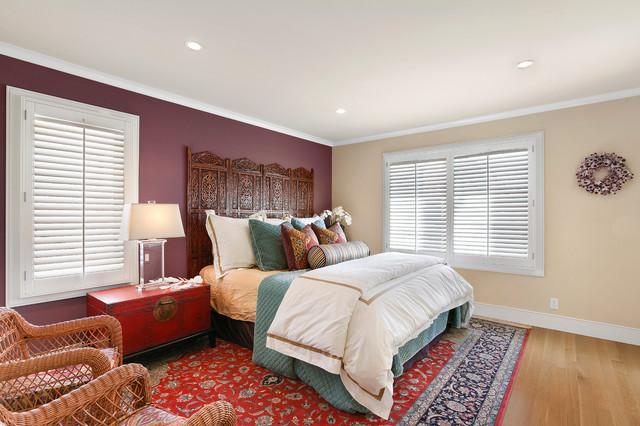 Corona Del Mar Village Condo B Asian Bedroom