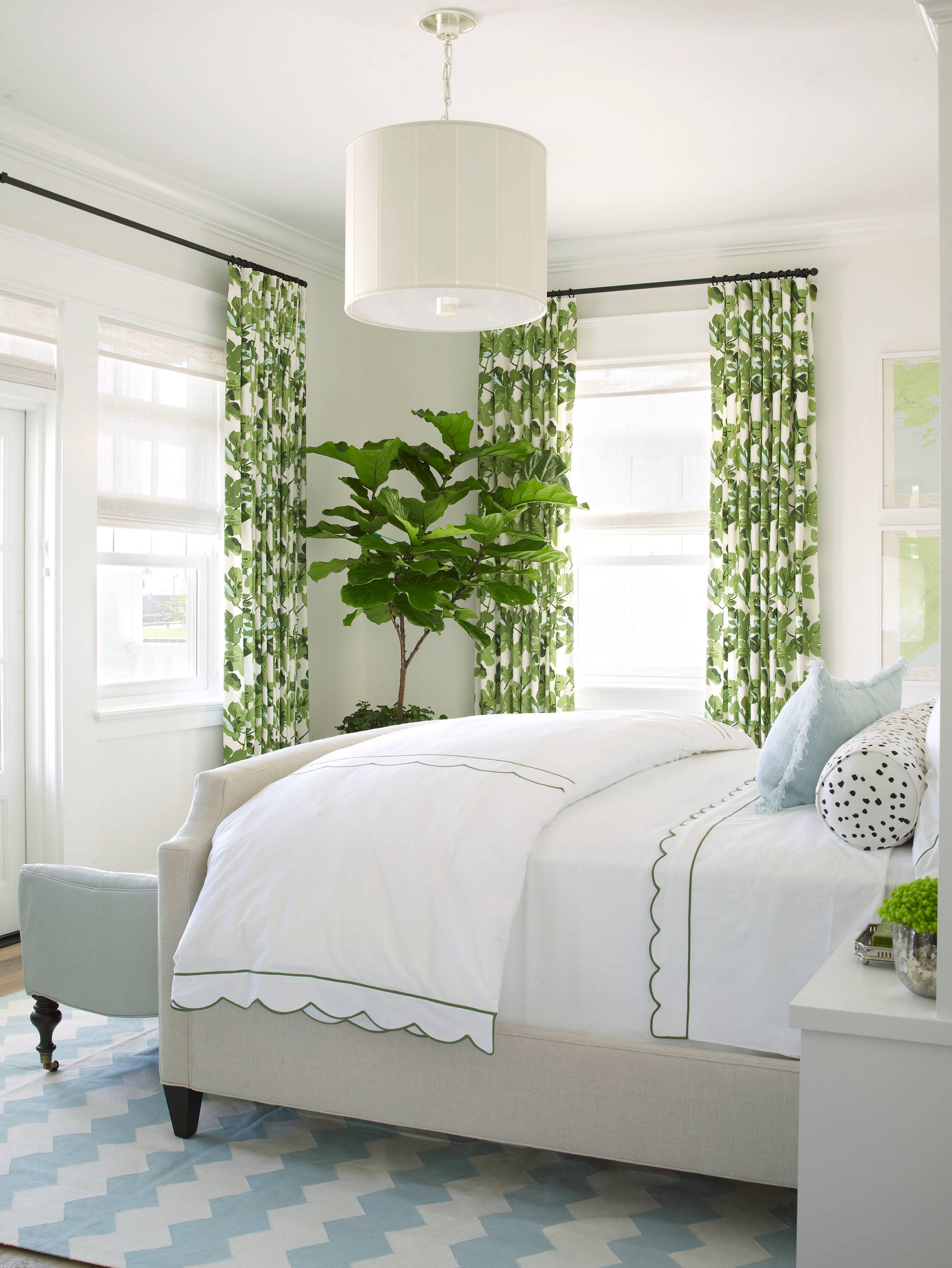 75 Beautiful Green Bedroom Pictures Ideas February 2021 Houzz