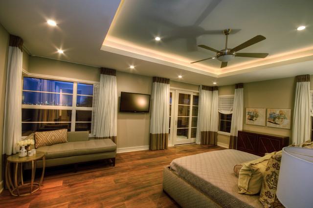 Cortona Master Suite contemporary-bedroom