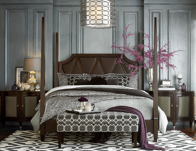 Cosmopolitan Poster Bed by Bassett Furniture - Contemporary ...
