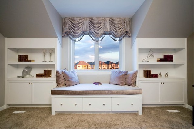 Cosy Alcove - Traditional - Bedroom - other metro - by Fenwick & Company Interior Design