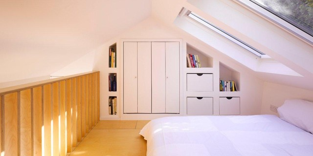 Contemporary Bedroom by DMVF Architects