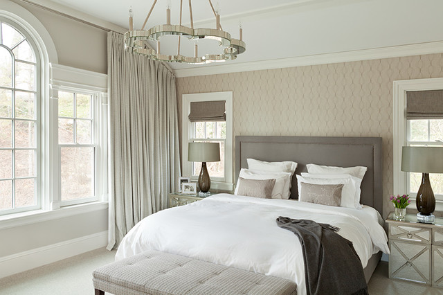Cottage Style Home With Large Addition Contemporary Bedroom New York By Ruth Richards