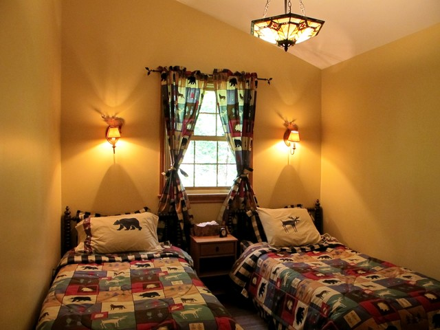 Cottages and Summer Homes transitional-bedroom