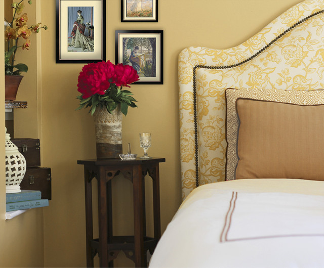 Country Chic Master Bedroom traditional-bedroom