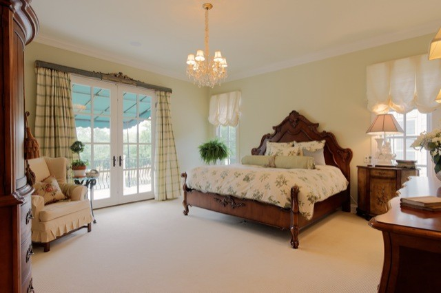 Country French Bedroom - American Traditional - Bedroom ...