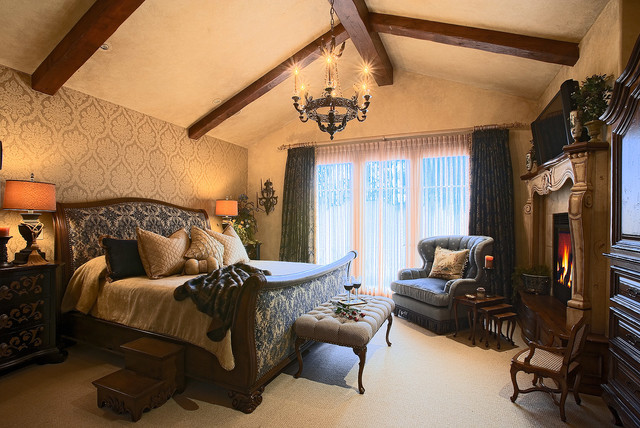 Country french cottage traditional bedroom salt lake for French country cottage bedroom ideas