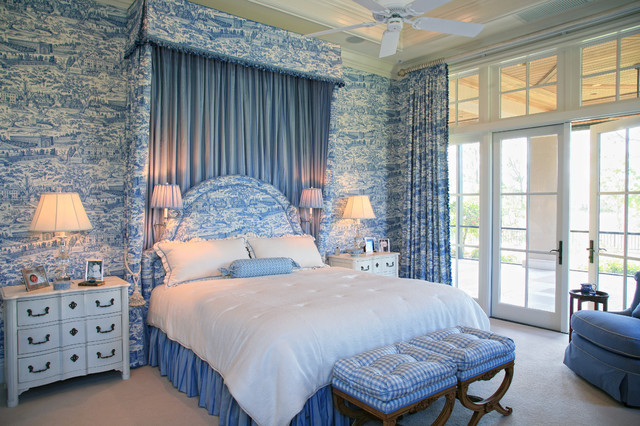Country French Estate traditional-bedroom