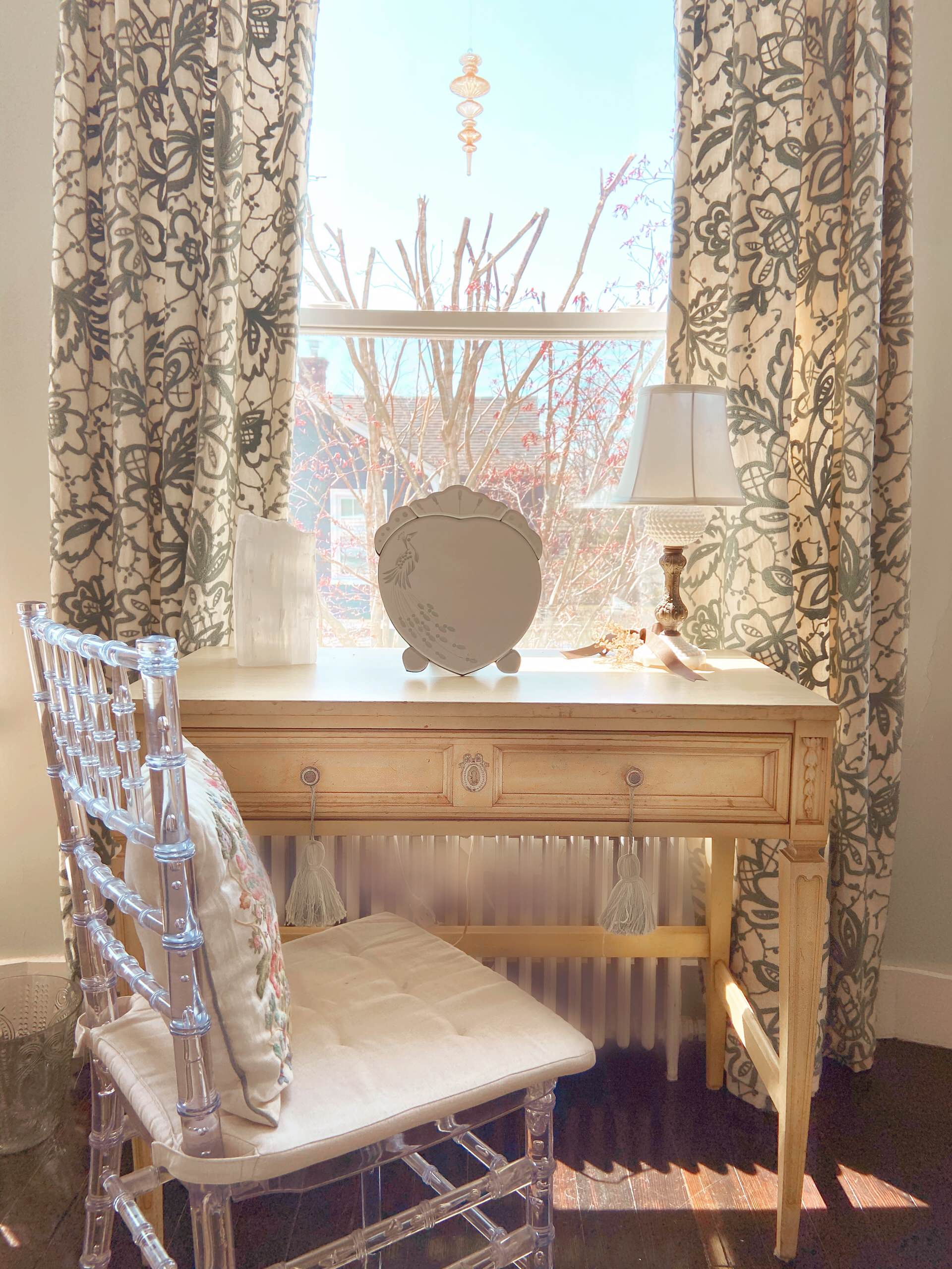 Country French Master Bedroom — Watch Hill, RI