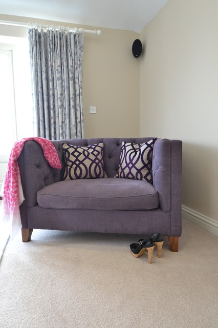 Country Living - Hampshire traditional-bedroom