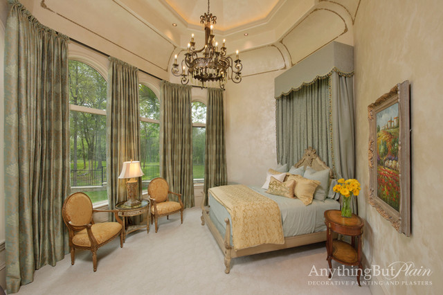 Country Mansion On The Brazos Mediterranean Bedroom