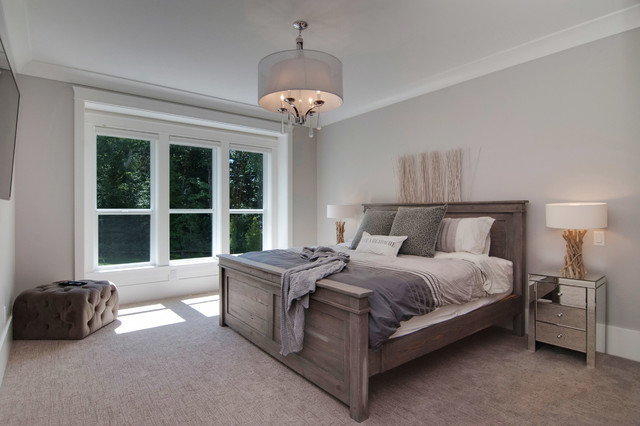 Country Modern Farmhouse Contemporary Bedroom